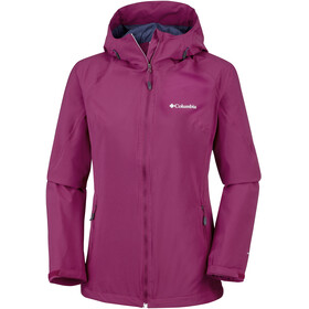 Columbia Trek Light Jas Dames rood